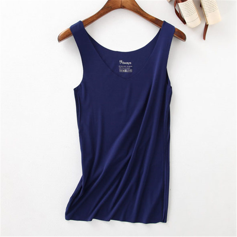 Yuetongme 2017 Women Tank Solid Color Sleeveless Sexy Top