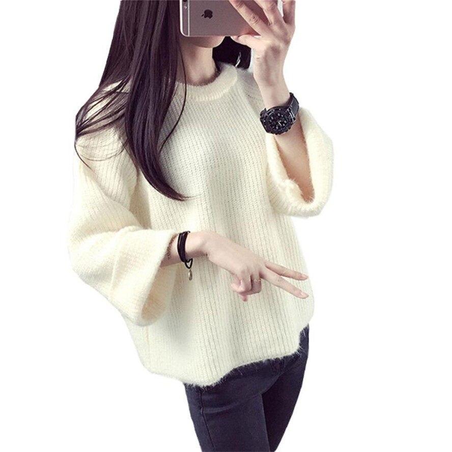 f9ef9f2385753 送料ダチョウ 2019 冬の女性のセータープルオーバー長袖ディープ V バックレスプルファム Oct11|プルファム-|女性のセータープルオーバー|ファム-  - Gooum