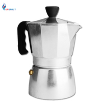 Upspirit Stainless Steel Moka Coffee Maker Mocha Espresso Latte Stove Top Filter Coffee Pot Percolator Kettle