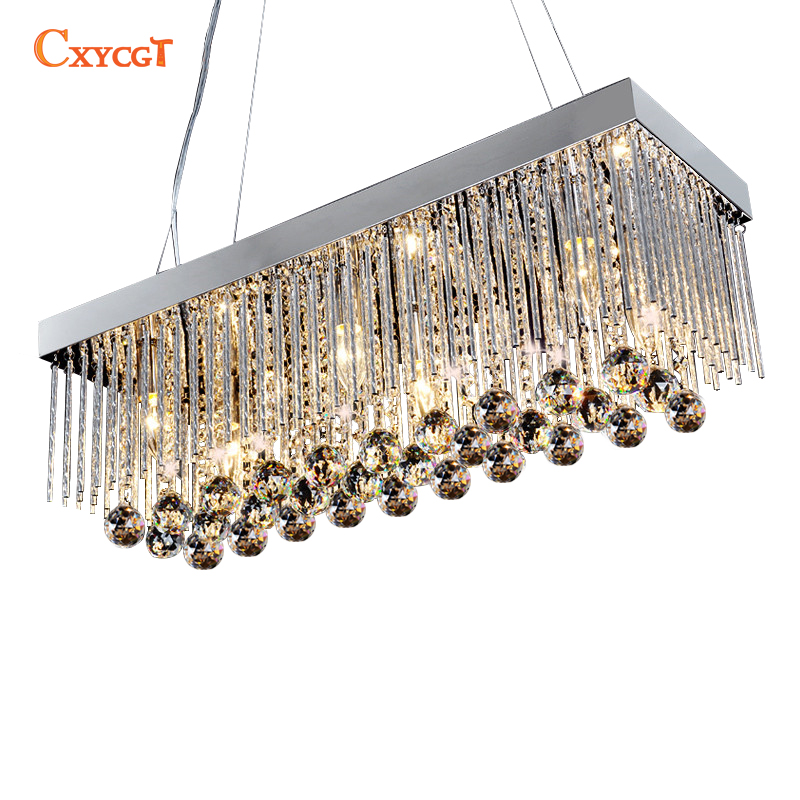 2017Modern European K9 chandeliers living room dining room led lights E14 led light lamp led lustre light chandelier modern crystal chandelier led hanging lighting european style glass chandeliers light for living dining room restaurant decor