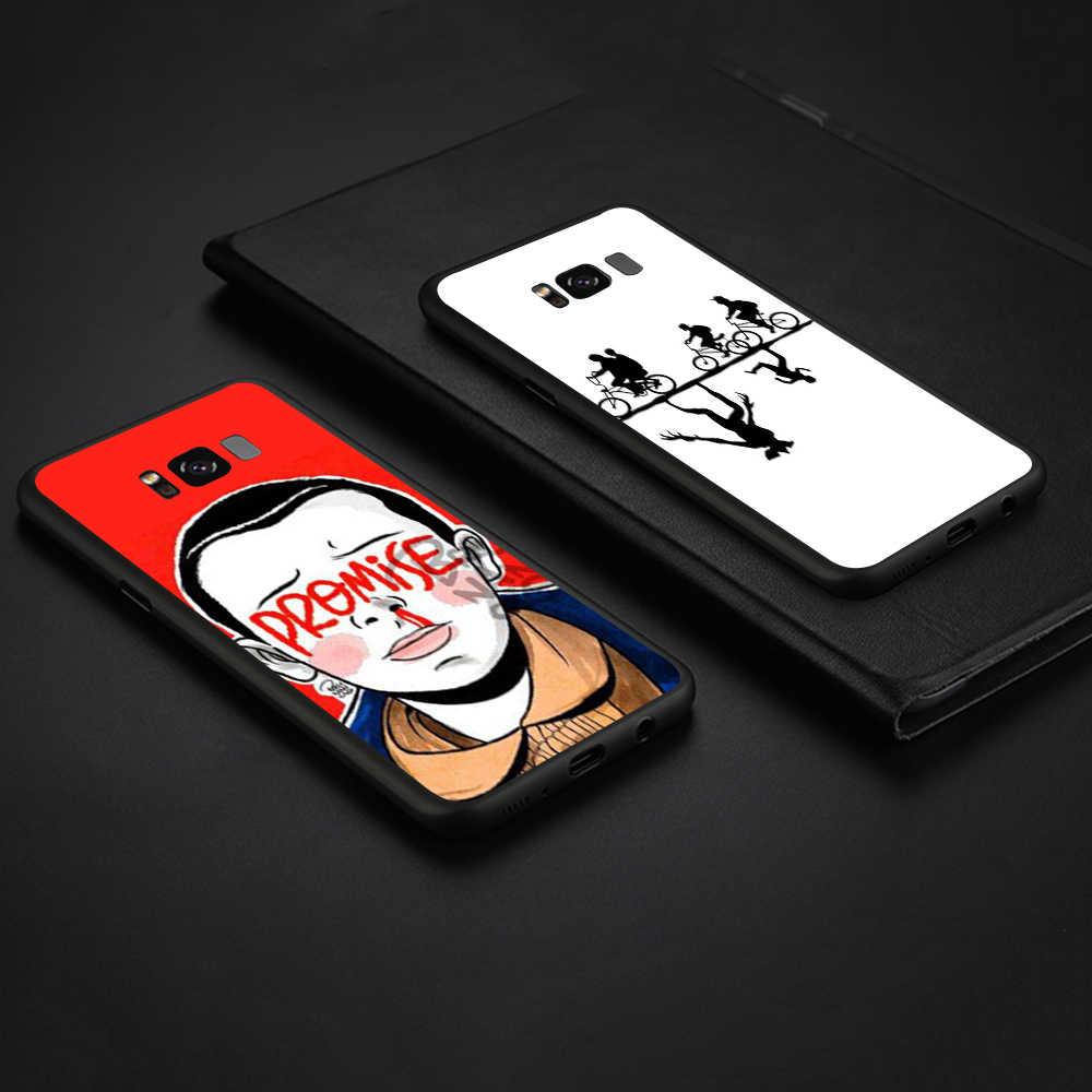 WEBBEDEPP Straniero Le Cose Della Copertura di TPU per Samsung Galaxy A10 A30 A40 A50 A70 A6 A8 A9 J6 2018 Nota 8 9 Custodia morbida