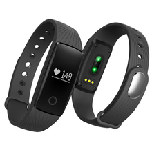 Tgeth V05C монитор сердечного ритма часы SmartBand Фитнес Спортивные Bluetooth трекер Браслет PK ID107 fitbits mi Группа 2