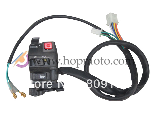 Multi-function switch for ATV Quad use