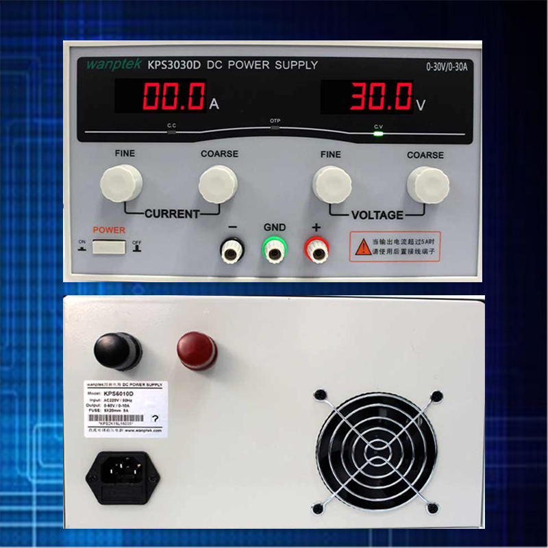 High precision Adjustable Display DC power supply 30V 30A High Power Switching power supply Voltage Regulators high quality wanptek kps6030d high precision adjustable display dc power supply 0 60v 0 30a high power switching power supply