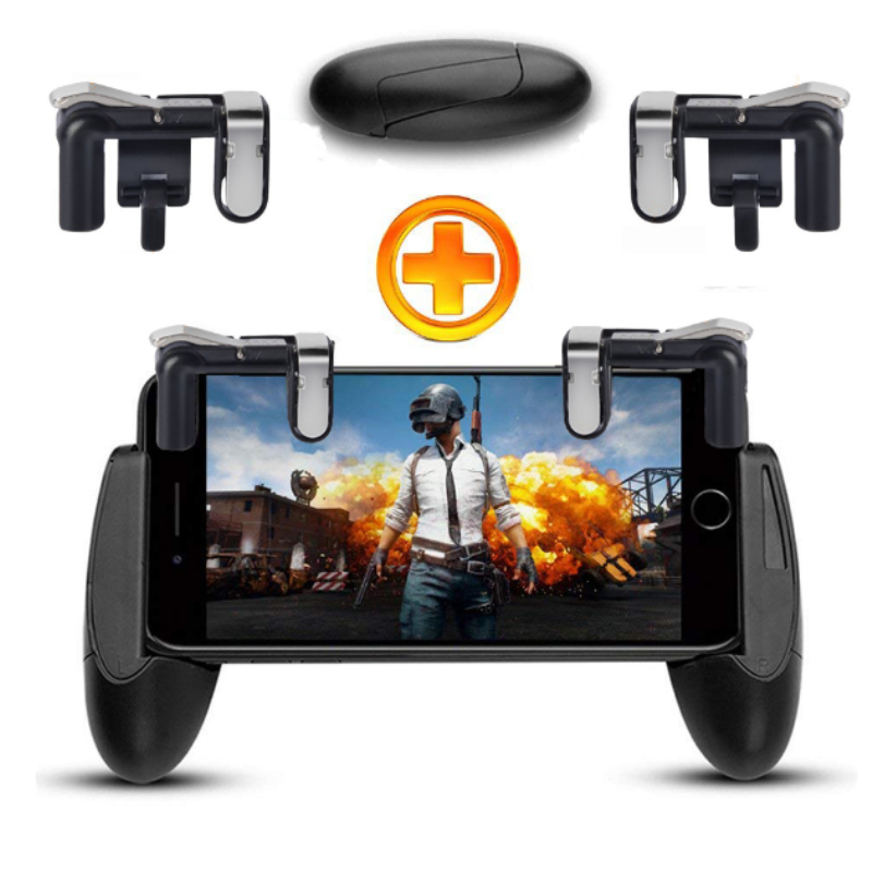 Mobile Game Phone Fire Button Controller and Joystick Gamepa