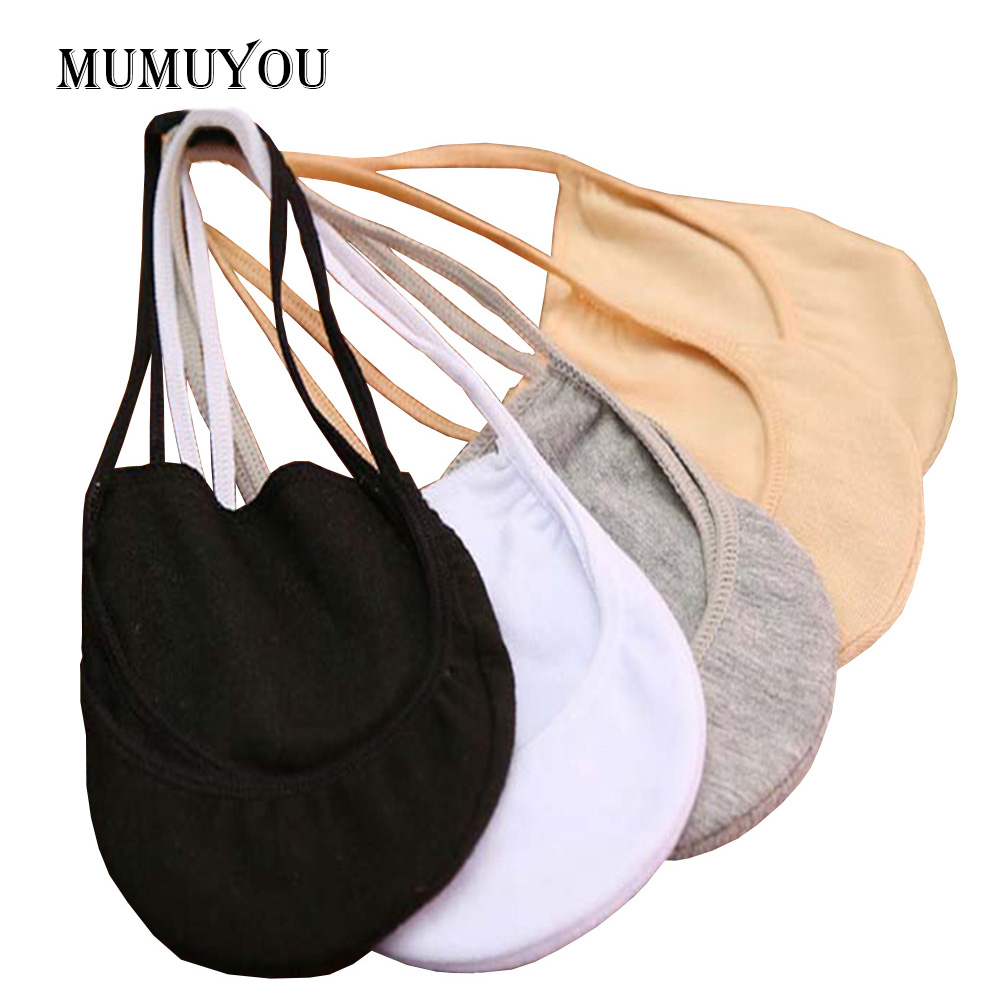 5 Pairs of Womens Slingback Toe Cover To