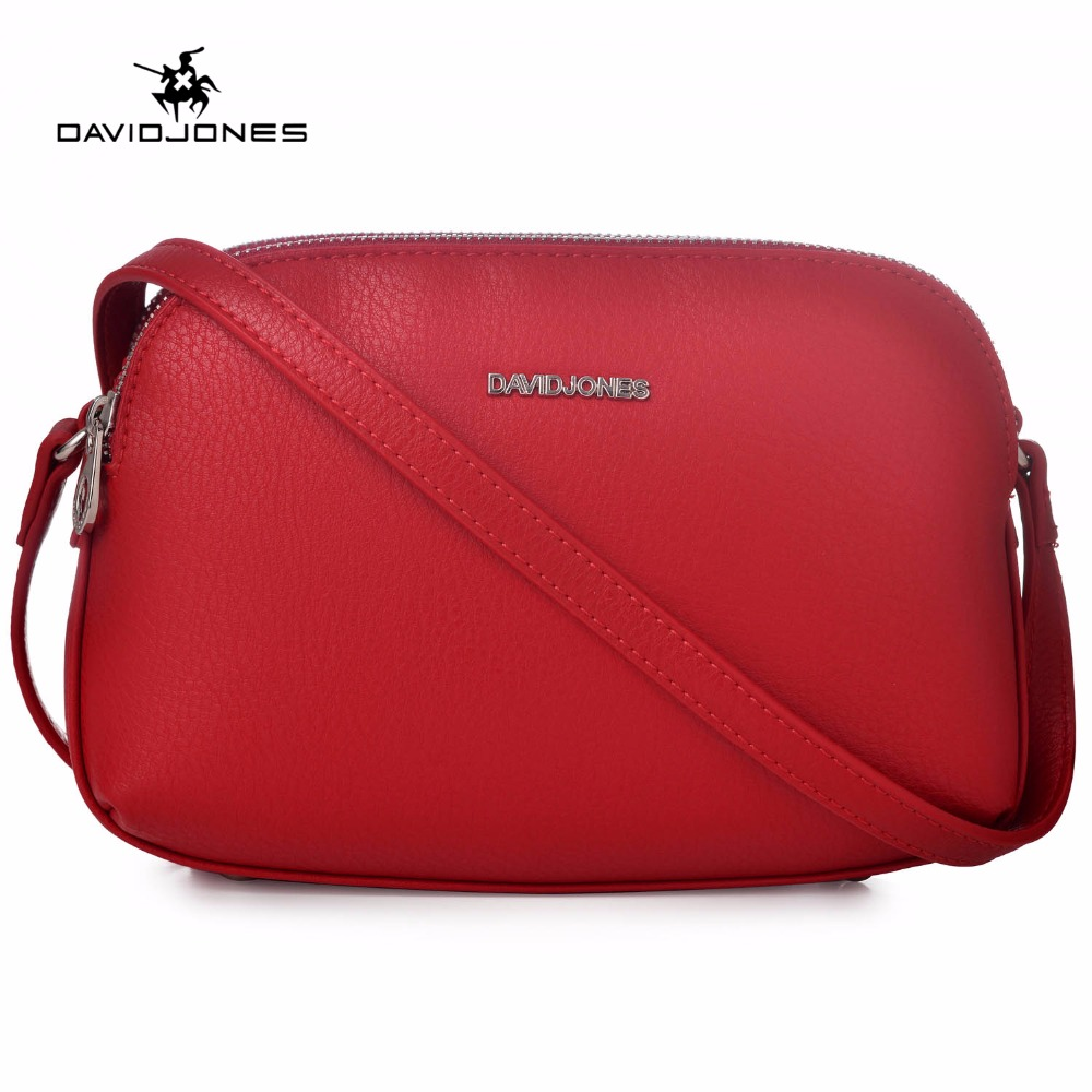 DAVIDJONES Women PU Shoulder Bags Cross Body Messenger Bags 2018 Purse Bolsa 2018 women messenger bags vintage cross body shoulder purse women bag bolsa feminina handbag bags custom picture bags purse tote