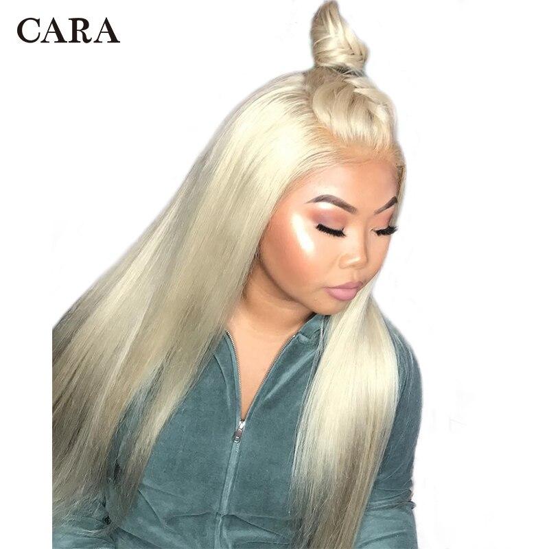 613 полный парик шнурка блондинка натуральные волосы парик Бразильский Glueless предварительно сорвал волосяного покрова полный кружева натура