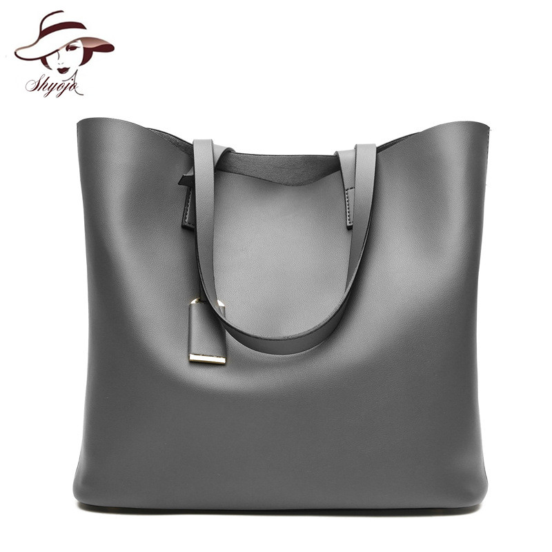 New 2018 Fashion Vintage Big Casual Tote Women Leather Handbag Luxury Lady Purse Pocket Messenger Shoulder Bag Sac Bolsos Mujer 2017 new women leather handbags pouch clutch fashion handbag vintage female shoulder bag small tote messenger bag bolsos sac