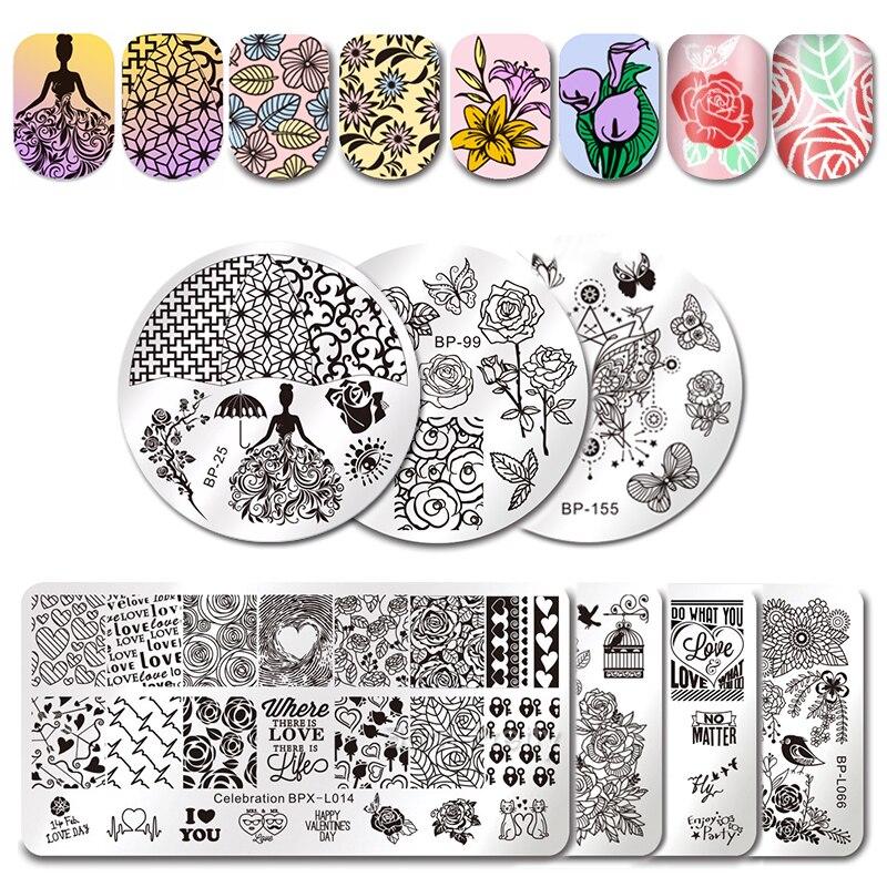 BORN PRETTY Love Theme Nail Art...