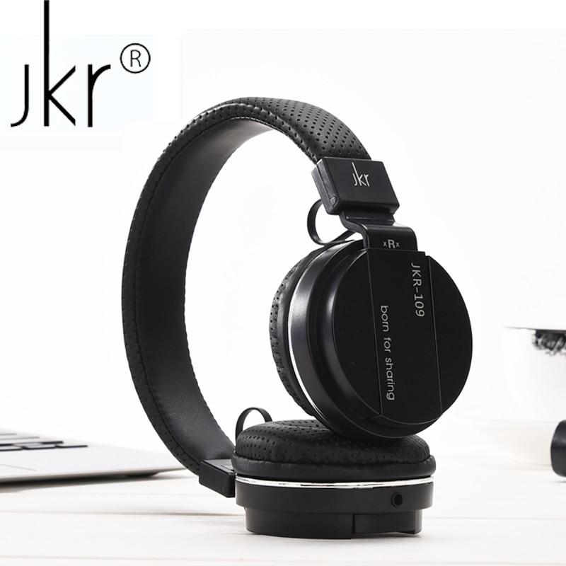 JKR Kopfhörer Hifi Wired Headset Casque Audio Für Telefon Computer-Spieler Kopfhörer Kopf Ohr Sluchatka Kulakl Headfone