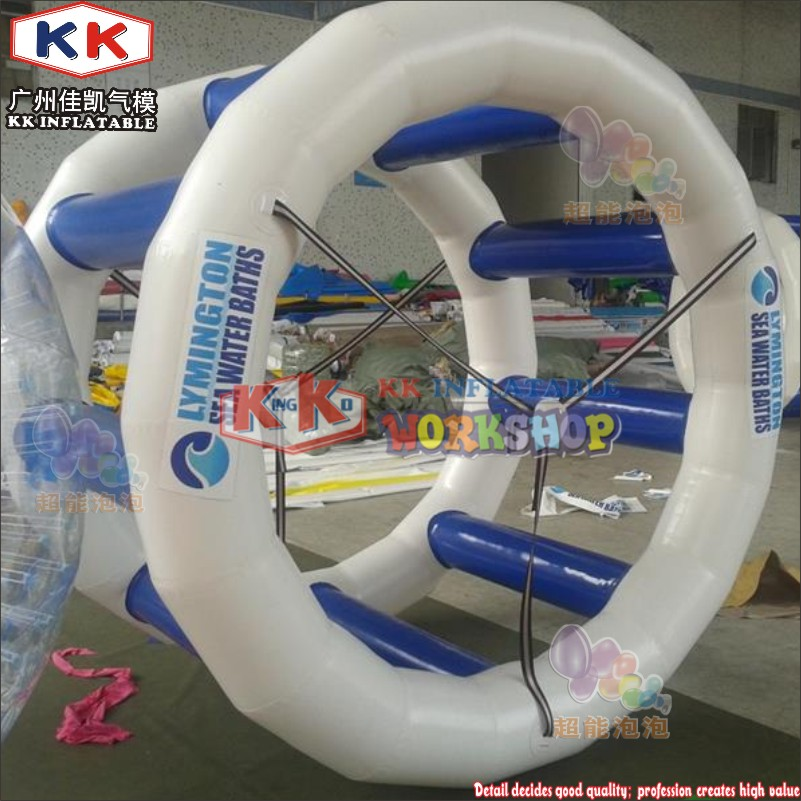 0.9MM PVC Inflatable Roller Used For Water Park Equipment