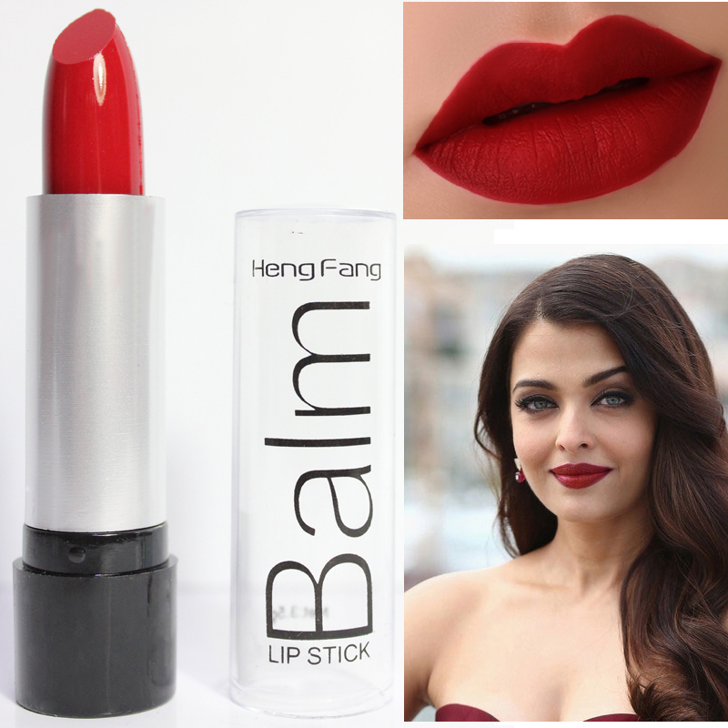 New Brand Makeup Beauty Lips Red Black Lipstick Pencils Waterproof Makeup Lip Tint Lipstick Matte Lips Cosmetics
