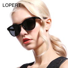 LOPERT Brand Design Cat Eye Polarized Sunglasses Women Lady Elegant Sun Glasses Female Driving Eyewear Oculos De Sol For