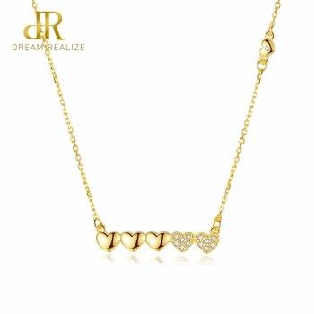 4779db2cc272 El dr. amor corazón 925 collares de plata esterlina colgante de joyería de  S925 Collar