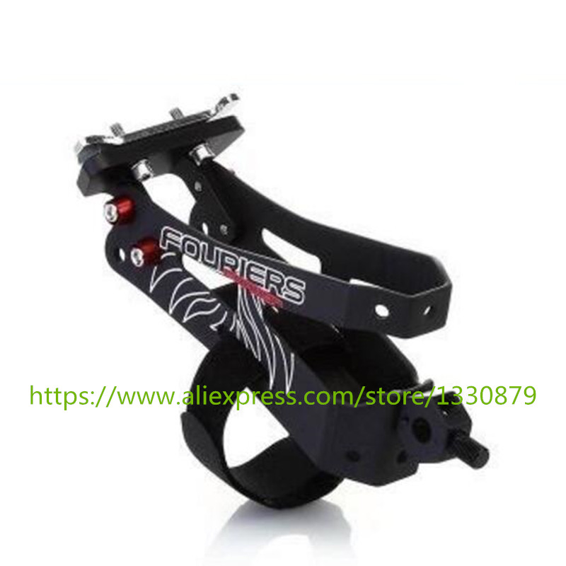 FOURIERS Bike carbon fiber Water Bottle Cage Multifunction Bicycle Bottle Holder Mountain Bike Bottle Cages 3K/UD fouriers hb mb008 n2 320 carbon fiber ud mountain bike straight handlebar 31 8x750mm 170g 9 degrees