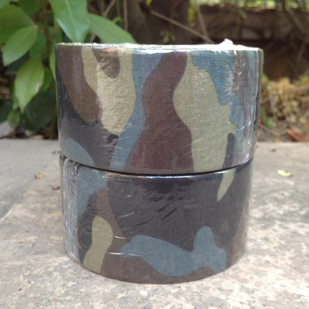 NEW Waterproof Camo <font><b>Camouflage</b></font> Tape Wrap for Outdoor <font><b>Biking</b></font> Hunting Camping Tool image