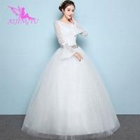 AIJINGYU mother lebanon wedding dresses turkey bride WK507