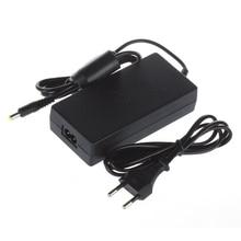 10pcs Lot EU Plug AC Adapter Charger สายไฟสายไฟสำหรับ PS2 คอนโซล Slim สีดำ