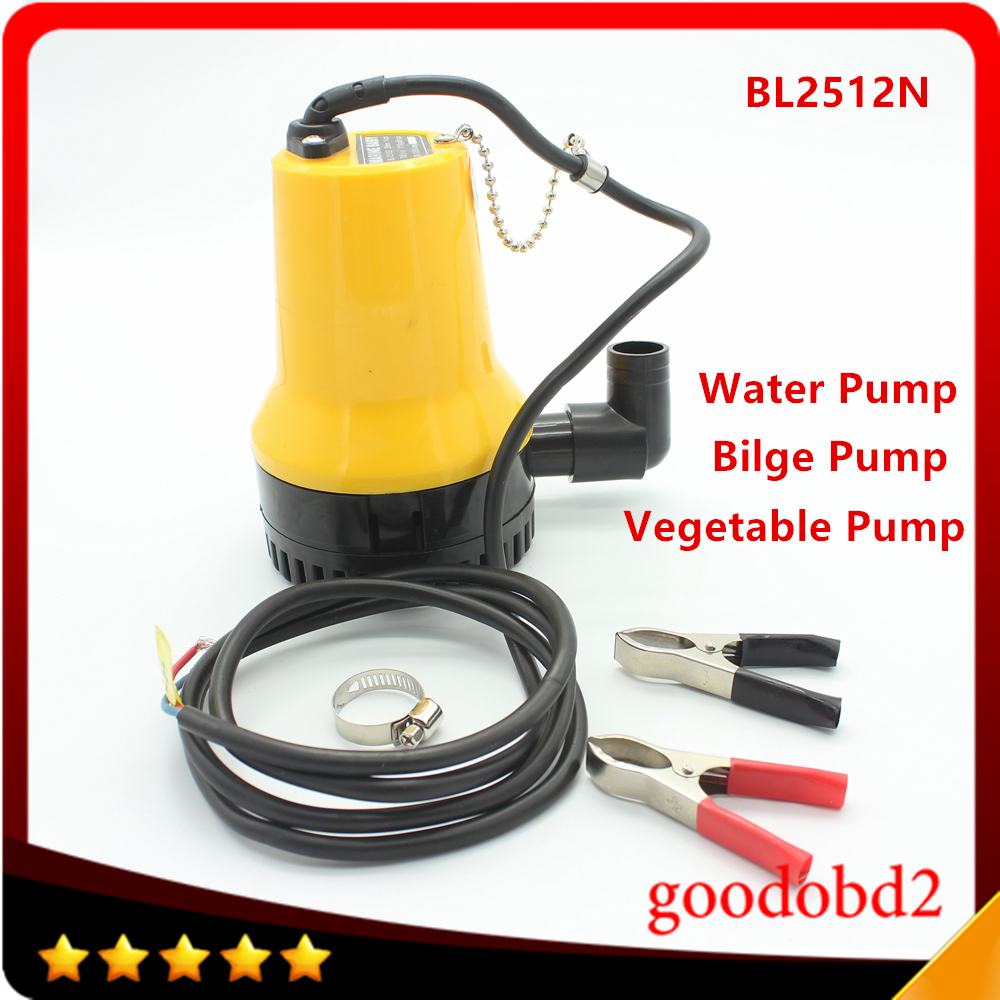 12V 1200GPH Boat Bilge Water Pump, Automatic Micro DC Immersible Agricultural Irrigation Electric Water Submersible Pump 20m3 h big capacity wells pumping machine 220v electric submersible irrigation water pump garden water pump