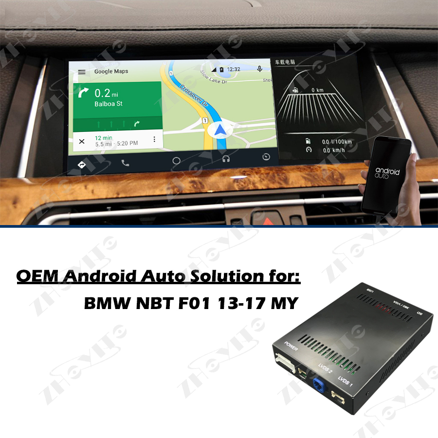 US $362 45 |Aftermarket F01 OEM Apple Carplay Android Auto Solution Upgrade  IOS Airplay Retrofit Box for BMW NBT Plug and Play-in Car Multimedia