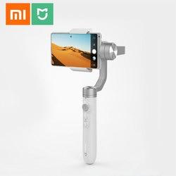 Oryginalny Xiaomi Mijia SJYT01FM 3-Axis Handheld stabilizator gimbal w 5000mAh baterii przez aparat działań sportowych i telefon Mix 2 2S 1