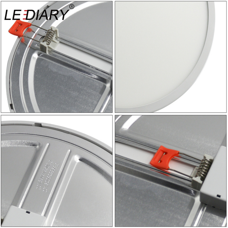 LEDIARY 6W 20W LED SMD Downlights Driverless 100V 240V Panel Light 50mm to 210mm Cut Hole Adjustable Recessed Ceiling Spot Lamp in Downlights from Lights Lighting