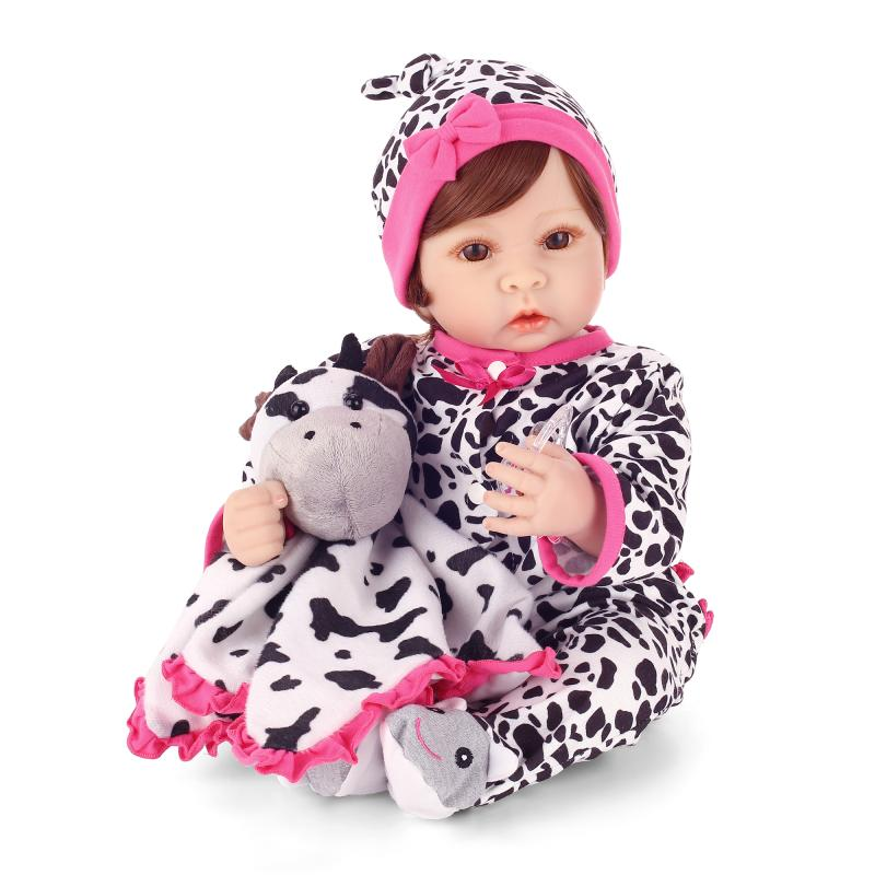 Здесь можно купить  55cm Silicone reborn baby doll toys simulation newborn boy baby doll play house toy girls brithday gifts reborn dolls collect  Игрушки и Хобби