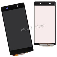 100 Test Black LCD Display Screen For Sony Xperia Z2 D6502 D6503 D6543 L50W Touch Digitizer