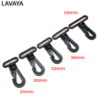 500pcs/pack Plastic Swivel Snap Hooks Buckle for Backpack Belt Straps Briefcase Strap Clasp Garment