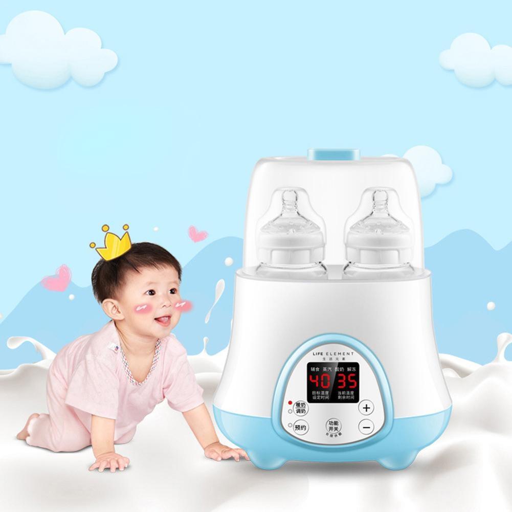 Bottle Multifunction Smart Baby Milk Heating Bottle Heater Warm Milk Sterilizer Combo Automatic Warm Milk Hot Milk Baby Bottle