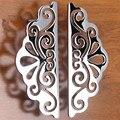 Moderno e minimalista moda criativa styling porta do armário puxador de gaveta mobiliário alça Europeia-estilo semi-circular 96mm 55mm