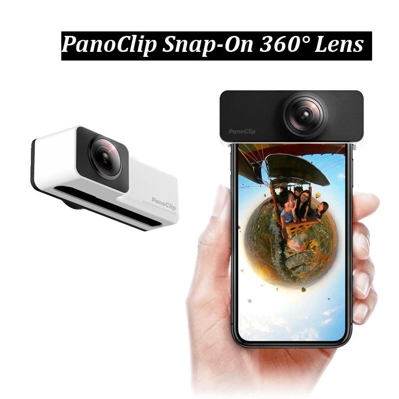 Objectif panoramique 360 Téléphone portable Caméra Double 180 Degré Fish-Eye Lentille Pour iPhone X iPhone7/8 7plus/8plus