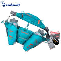 Greenhermit Running Water Bags Hydration Belt For Men Women Waist Pack With 2 Bottles PR1010
