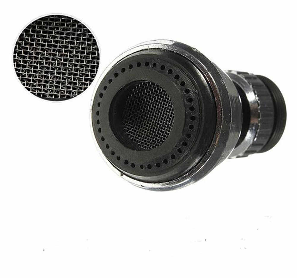 Hot Dijual 360 Berputar Putar Faucet Nozzle Torneira Water Filter Adaptor Air Dapur Gadget Dropshipping *