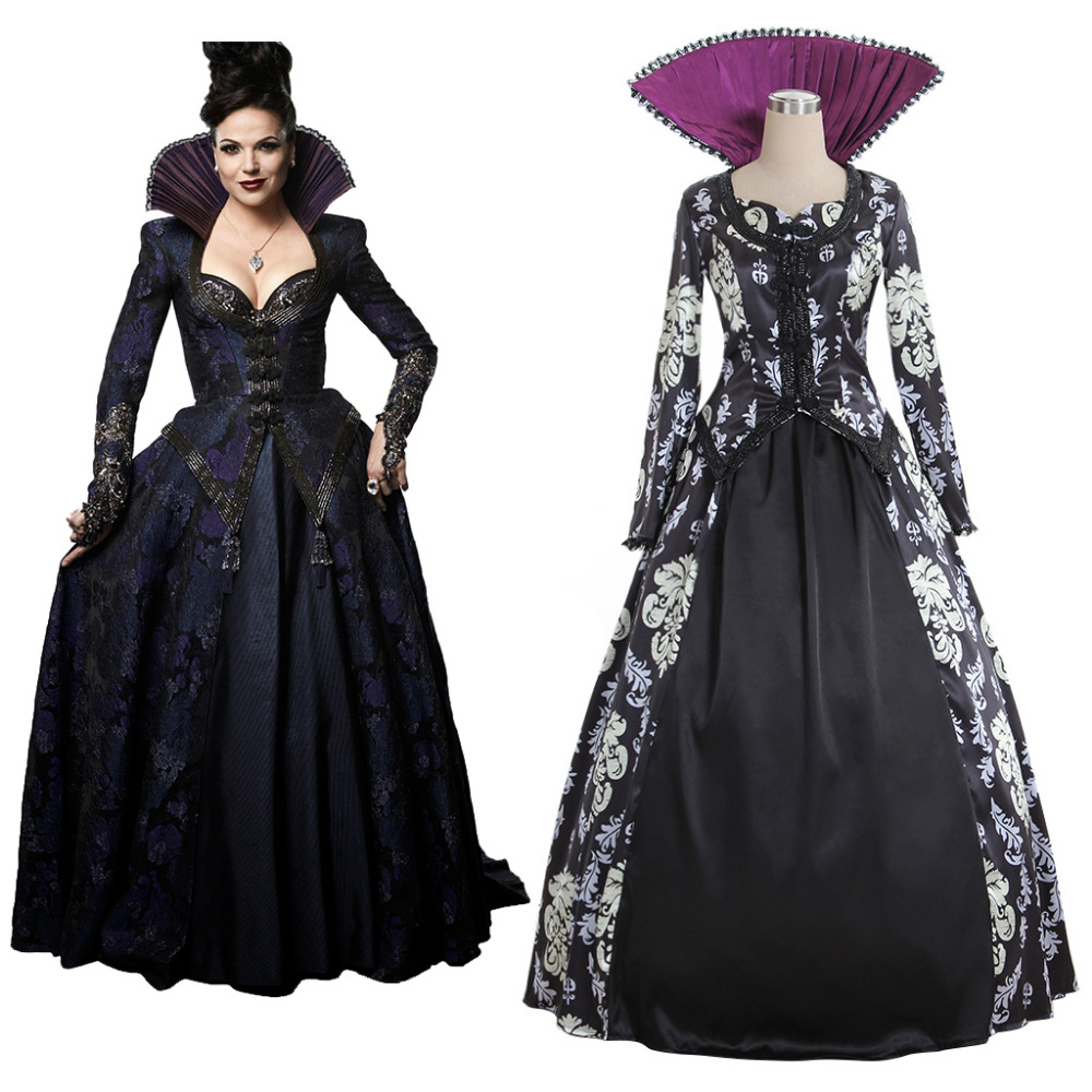 Costume Halloween Regina.Us 81 0 Once Upon A Time 3 Regina Mills Dress Costume Top Skirt Adult Women S Halloween Carnival Costume Cosplay In Movie Tv Costumes From Novelty