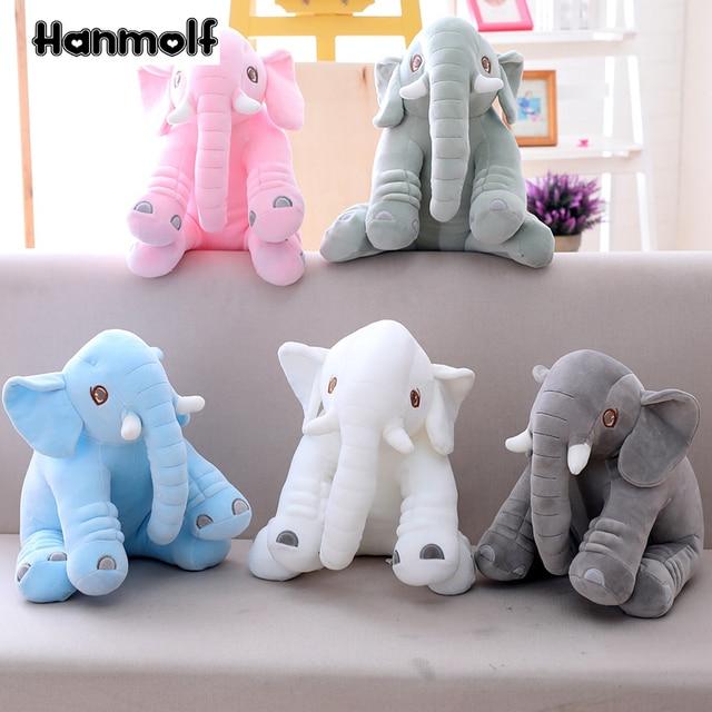 Ultra Soft Elephant Plush Toy Stuffed Plushie Eli Pillow Kids