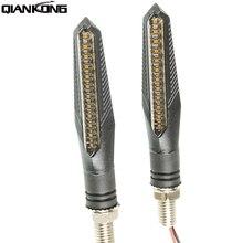 Motorcycle LED Turn Signal Lights Direction Indicators FOR HONDA CBR 600 F2,F3,F4,F4i CBR900RR CBR1000RR CBR954RR CB600F стоимость
