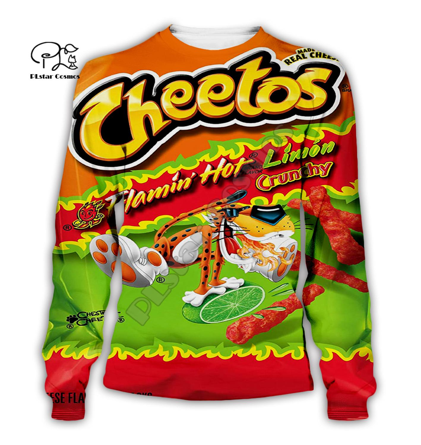 Family Cheetos 3D mom daddy kids Hoodie Letter Print Unisex Long Sleeve Pullover Harajuku All Over Printed Tracksuit Sweatshirts in Matching Family Outfits from Mother Kids