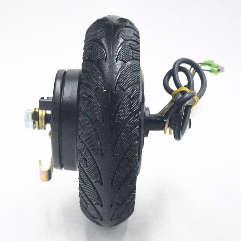 Electric Scooter Hub Wheel Motor 24V 36V 48V 350W DC Brushless Toothless 8inch Wheel Motor E