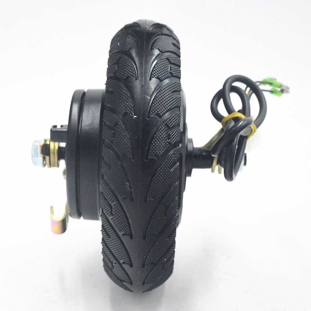 Electric Scooter Hub Wheel Motor 24V 36V 48V 350W DC Brushless Toothless 8inch Wheel Motor E Scooter Wheel Bicycle Motor Wheel