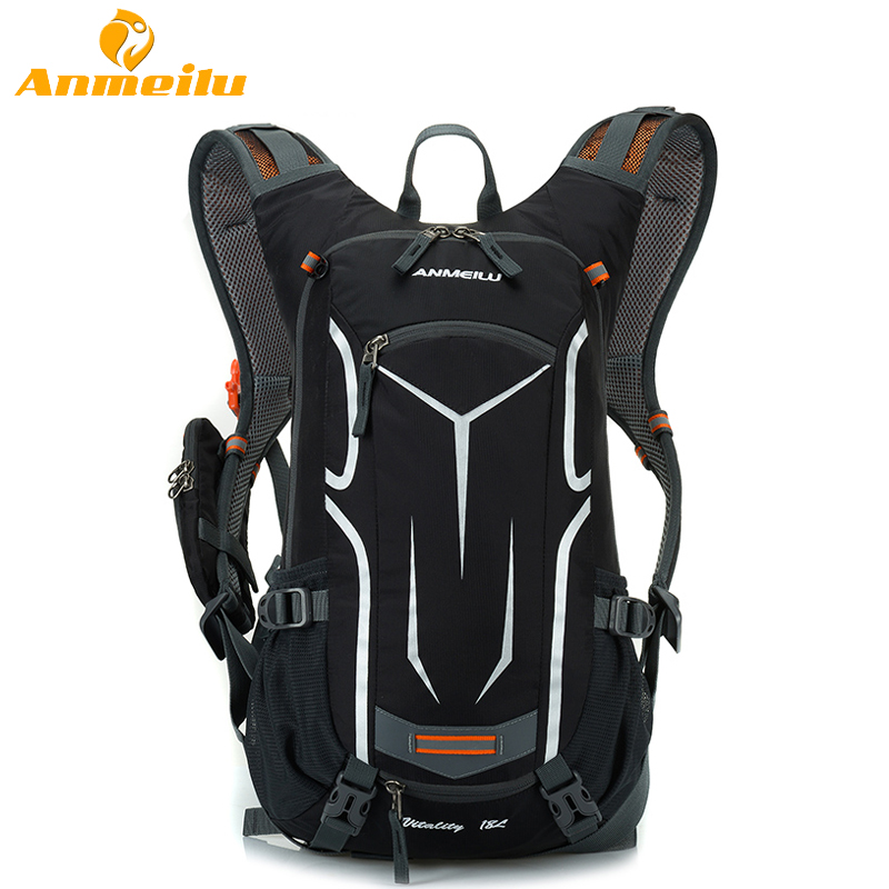 ANMEILU 18L Waterproof Camping Backpack Outdoor Sports Climbing Cycling Bag Sport Rucksacks Camelback 2017 roswheel 18l sports bag ultralight waterproof hiking camping climbing cycling backpack travel bag sport rucksacks camelback