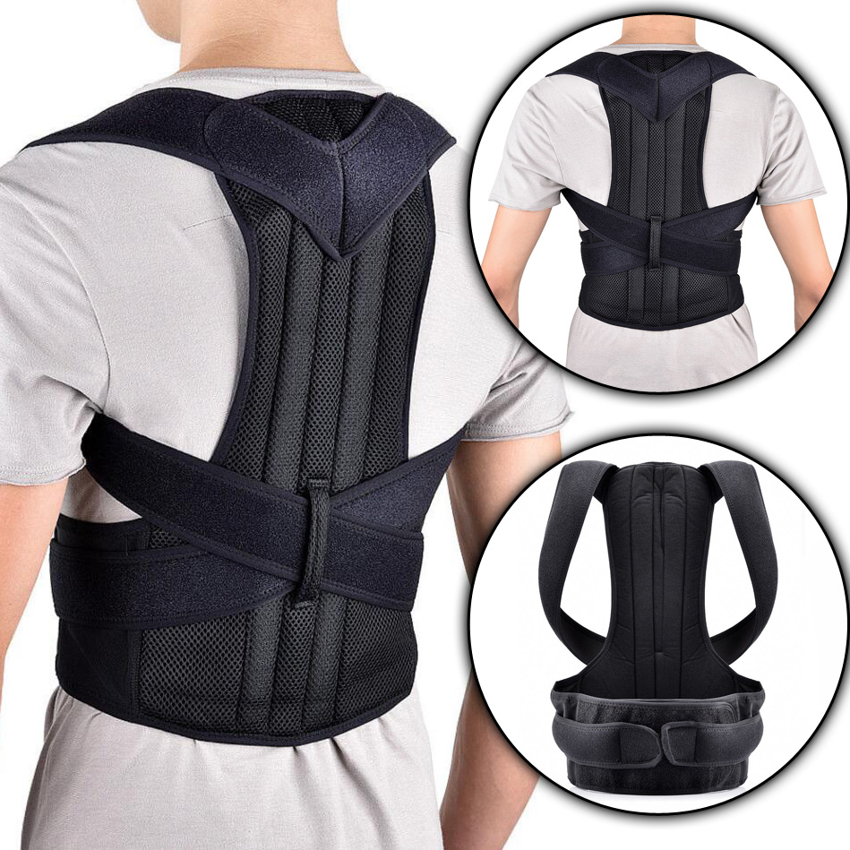 Health Care Adjustable Orthopedic Posture Corrector Correction Brace Shoulder Back Support Belts Corsets For Women Men Plus Size