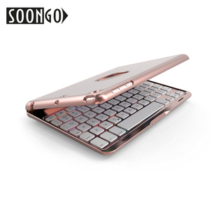Image 3 - SOONGO 7.9 Inç kablosuz bluetooth Klavye Kapak için ipad mini4 Kapaklı Arkadan Aydınlatmalı Tuş Takımı Apple ipad mini4 Tablet Klavye