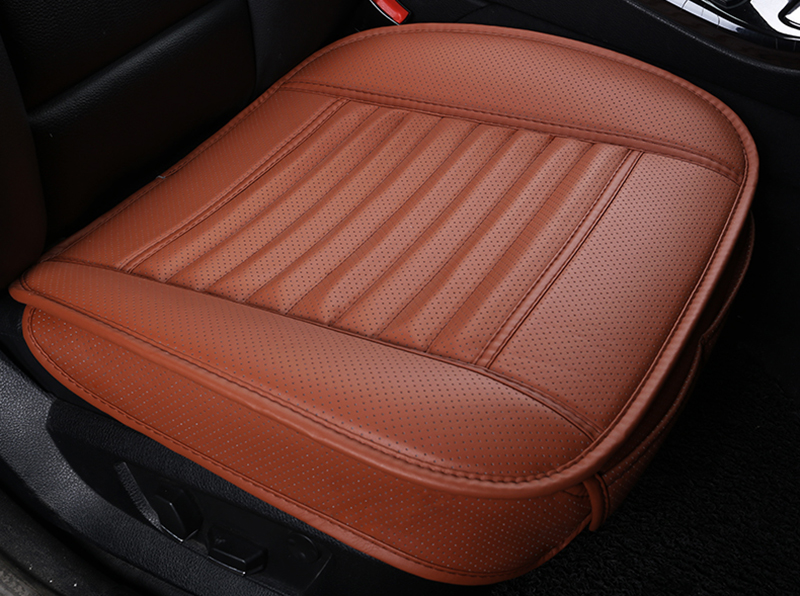 1pc Universal Non-rollding Up Bamboo Charcoal Cushions Non Slide Pads For Car