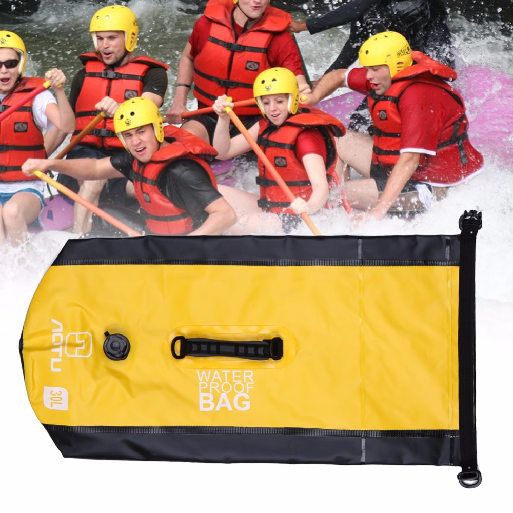 Portable 30L Waterproof Bag Storage Dry Bag for Canoe Kayak Rafting Sports Outdoor Camping Travel Kit Equipment