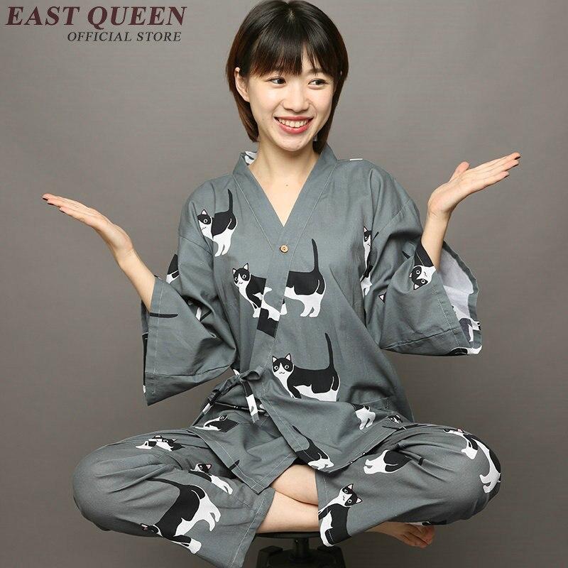 Kawaii Kimono Women Half Sleeve Floral Kimono Cardigan Two Piece Set Top And Pants Blouses Shirt+elastic Waist Pants AA2827 YQ