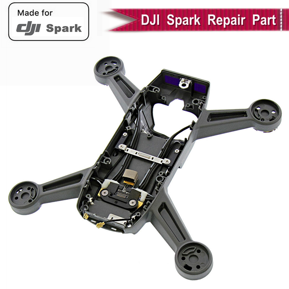100% Genuine Middle Frame Body Shell for DJI Spark Cover Body Shell Spare Part DJI Spark RC Drone Mid Frame Original Accessories100% Genuine Middle Frame Body Shell for DJI Spark Cover Body Shell Spare Part DJI Spark RC Drone Mid Frame Original Accessories