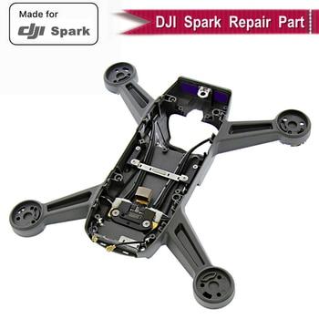 Carcasa de cuerpo de Marco medio genuino 100% para DJI Spark funda de cuerpo pieza de repuesto DJI Spark RC Drone medio marco accesorios originales