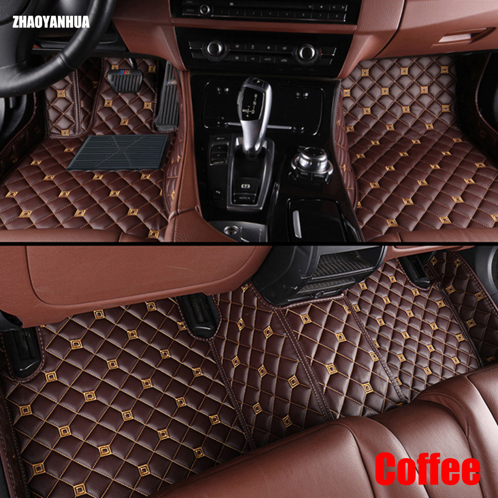 Custom fit car floor mats for Mercedes Benz W203 S203 CL203 W204 S204 C204 W205 S205 C class C180 C200 C300 car styling liners pp class front car mesh grill sport style fit for benz w203 c 2000 2006